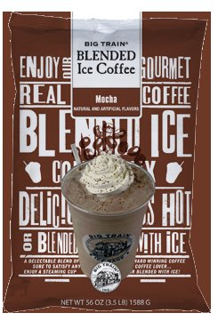 Big Train Ice Coffee Mocha 3.5 lb Bag