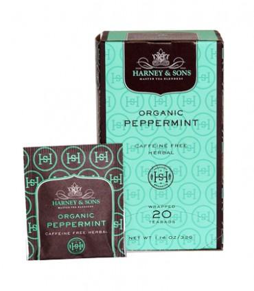 Harney & Sons Organic Peppermint Tea 20 ct