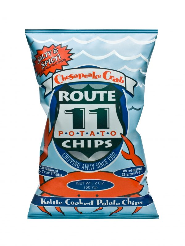Route 11 Crab Chips 30 - 2 oz bags