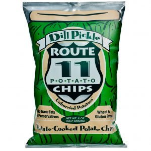 Route 11 Dill Pickle Chips 30 - 2 oz bags
