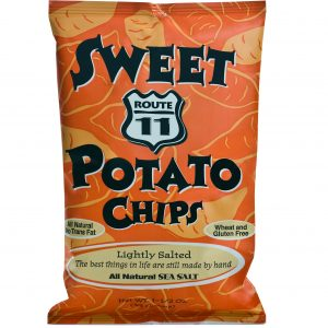 Route 11 Sweet Potato Chips 30 - 1.5oz bags