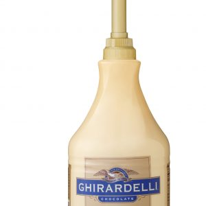 Ghirardelli White Chocolate Sauce 64 oz Jug