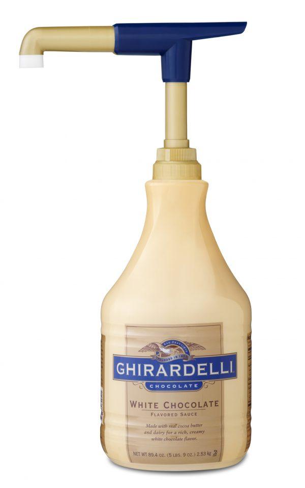 Ghirardelli White Chocolate Sauce 64 oz Jug