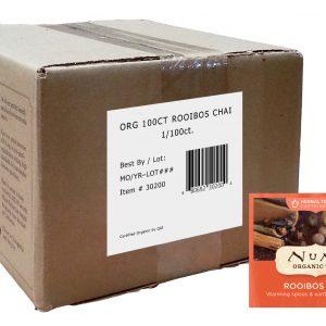 Numi Organic Rooibos Chai 100 ct