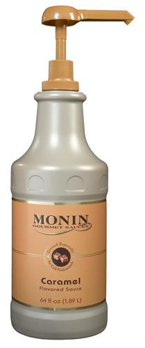 Monin Caramel Sauce 64 oz Jug