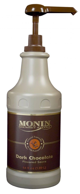 Monin Dark Chocolate Sauce 64 oz Jug
