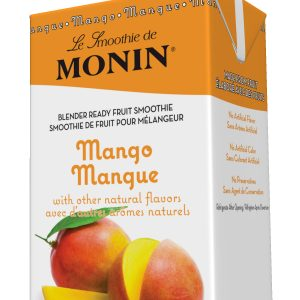 Monin Fruit Smoothie Mix Mango 46 oz Carton