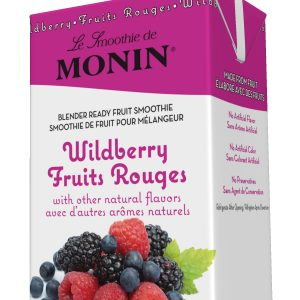 Monin Fruit Smoothie Mix Wildberry 46 oz Carton