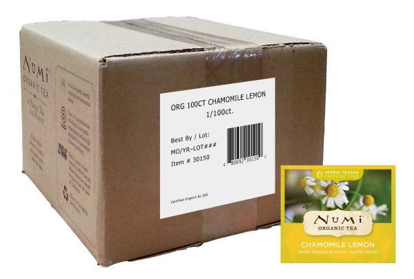 Numi Organic Chamomile Lemon 100 ct