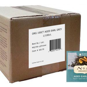Numi Organic Aged Earl Grey 100 ct
