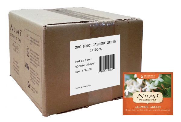 Numi Organic Jasmine Green 100 ct