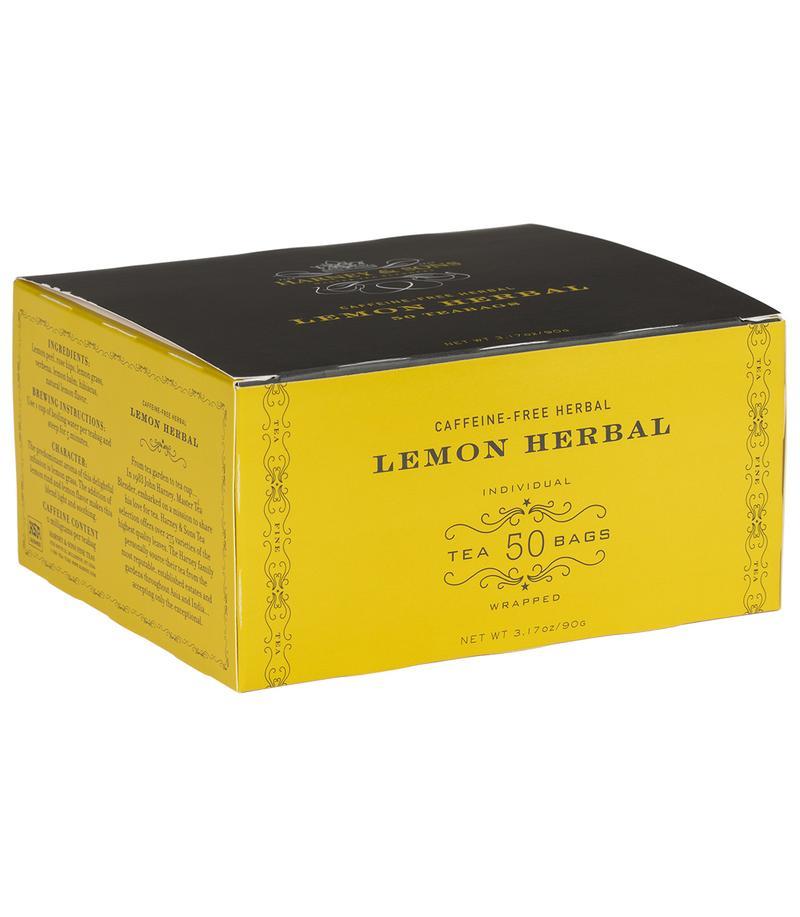 Harney & Sons Lemon Herbal Tea 50 ct