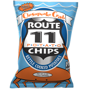 Route 11 Crab Chips 30 – 2 oz bags