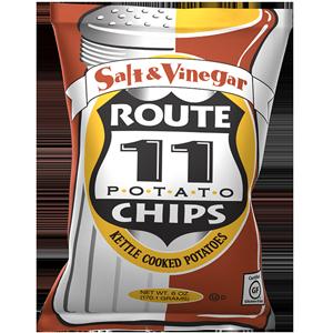 Route 11 Salt & Vinegar 30 – 2 oz bags