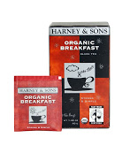 Harney & Sons Organic Breakfast Tea 20 ct