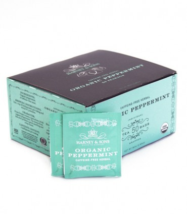 Harney & Sons Organic Peppermint Tea 50 ct