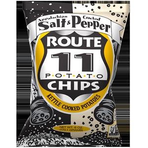 Route 11 Salt & Pepper Chips 30 – 2 oz bags